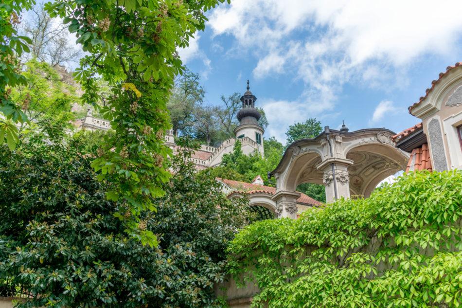 jardin sous le château de prague