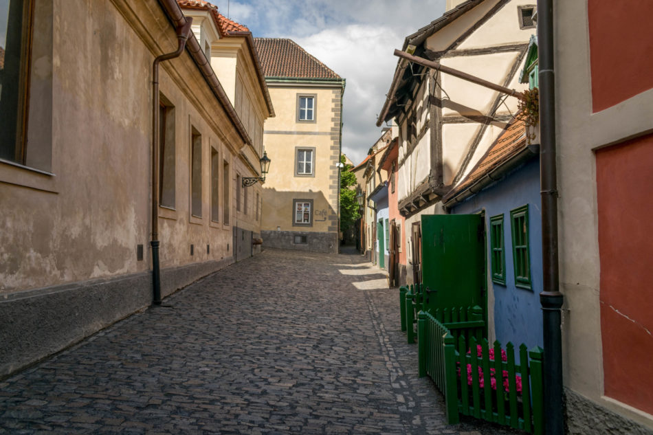 château de Prague