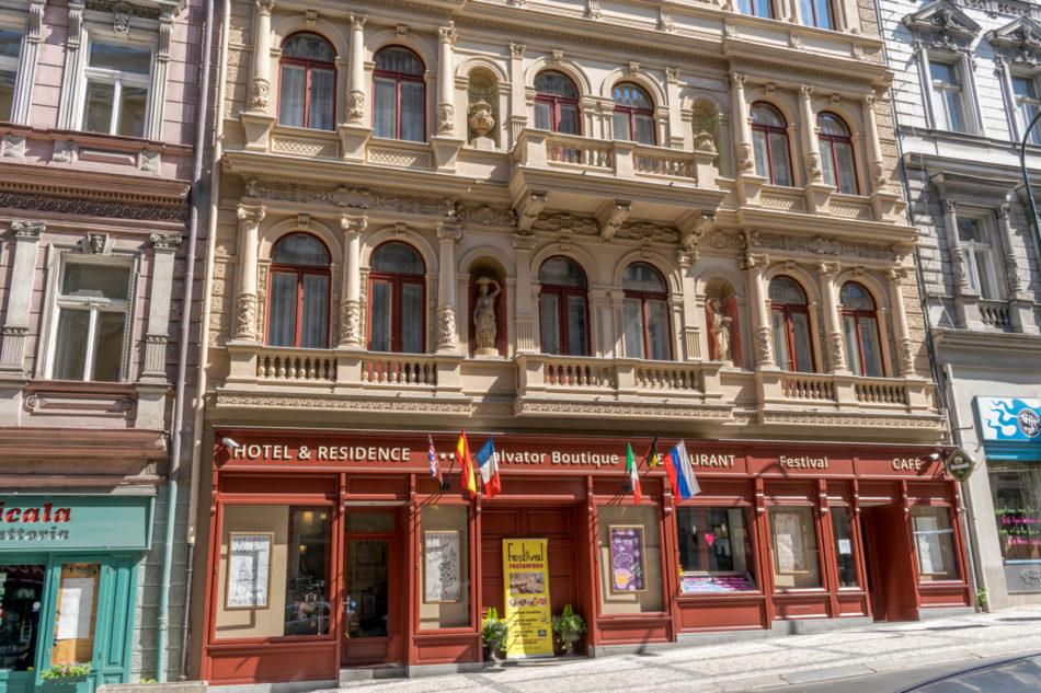 Salvador Boutique hôtel de Prague